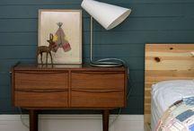 sleeping danish modern / danish modern midcentury anni 50 mobili danesi scandinavia vintage bedroom camera da letto
