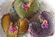 coeurs en patchwork