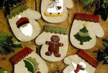 créations Noël ornements