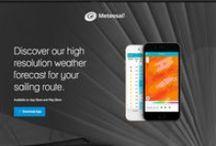 APP 's / Discover our high resolution weather forecast for your sailing route. Available on App Store and Play Store http://meteosail.meteoclim.com/   Ya está aquí #Meteosail predicciones #náuticas de alta resolución . Descárgala #gratis ;)