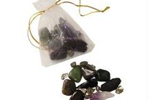 The Best Stones and Crystals for ... / A selection of over 20 different sets of the best stones for various different needs ranging from the best ones for coping with stress to the best ones for restful sleep. They're great for anyone who wants the natural healing properties and powers of stones and crystals without wearing jewelry. Information cards on the healing properties of the individual stones are included with purchase, as well as a pamphlet on the metaphysical properties of stones and how to use & care for them.