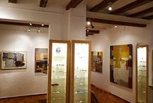 "Gallery / My studio-gallery, downtown Barcelona In ""el Call"" -ancient jewish medieval artisans' quarter-"