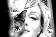 Celebrity Pets / Celebrities and their pets.