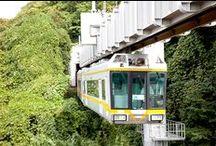 Just like walking in the sky! Best mood and best scenery, Shōnan Monorail! / http://www.jnize.com/en/article/100000106/