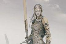 Character Design - Women