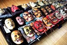 Is this the true meaning of Japanese horror?! The world of Noh masks - they're a teensy bit scary