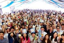 Drink and have fun and make a lot of memories! Come along to Oktoberfest in Japan!