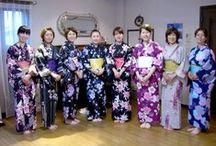 Be the belle of the ball in a gorgeous 'yukata' kimono!