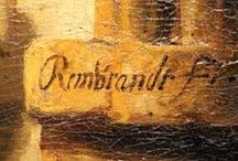 "The Artist's Signature / Rembrandt's birth name was Rembrant without a ""d"". In (almost) all signatures after 1633 Rembrandt insisted on adding the ""d"" to his name, while in most written documents he is mentioned as Rembrant without this addition. This was part of a gradual change in his identity reflected by his signature."