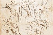 Drawing Anatomy - Men