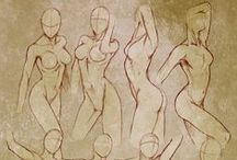 Drawing Anatomy - Women