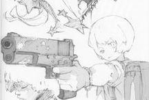 Anime & Manga - Sketches