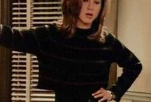 ch | rachel green / but today it's like there's rock bottom, 50 feet of crap, then me