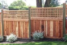 Solid Wood Fences
