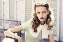 Styling: Decades Costume Hair / Hair and Makeup looks to evoke a certain decade.