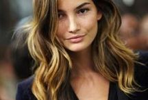 Color: Ombre & Balayage / Different Ombre and Balayage hair color looks.