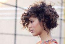 Haircut: Curly Hair (Women) / Fun haircuts for curly hair.