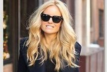 Color: Warm Blonde / Hair color that represents warm yellow golden blonde hues.