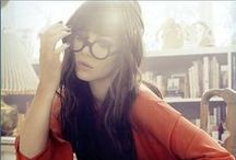 Muse: Chic Nerd / Haircuts and hairstyles that complement your eyeglasses while highlighting you facial features.