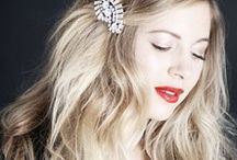 Styling: Holiday Hair / Glitzy and fun party hair for your winter holiday season.