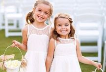 Styling: Flower Girls & Ring Bearers / Hairstyles for your precious flower girls and ring bearers.
