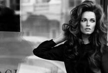 Styling: Glam Hair / Big gorgeous hair that speaks before you do.