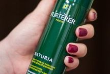 Products: Rene Furterer / Rene Furterer is a line we carry the salon. Great products to repair and nourish your hair.