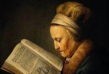 Mujeres leyendo / Mujeres leyendo inspiraron a pintores / by María Rodríguez
