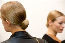 Styling: Sleek Hair / Smart sleek hairstyles with no hair out of place.
