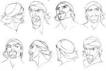 Model sheet - Chara design - sketches