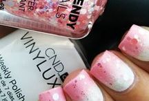 Pink Nail Art Ideas / Pink Nail Art Ideas by Less Talk, More Polish