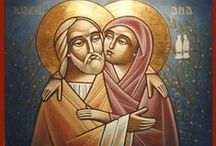 IKONA_Święci, historie ewangeliczne