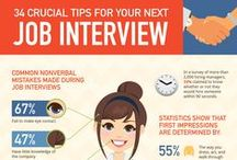 RESUME AND INTERVIEW TIPS / Check out these tips for nailing your next interview and improving your resume or cover letter.