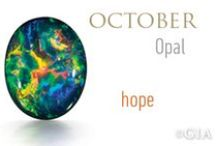 October Birthstone...Opal and Pink Tourmaline