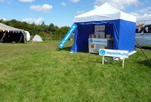 Tap Water Festivals / We organise and set up tap water refilling stations at your festivals with tapwater.org staff served with a smile
