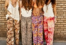 Hippie Pants / Idea's and fabrics for my hippie pants store