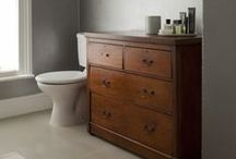 Home: Bath / bathroom / by Craftwhack
