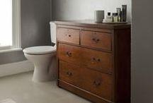 Home: Bath / bathroom / by Tiny Rotten Peanuts