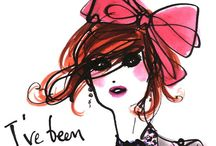 !Fashion Art & Inspiration! / Fave fashion illustrations! If you happen to see one here that doesn't have the original artist's name and you know it, please let me know! I want them to get credit for their beautiful work! =) / by Mandy M