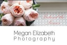Behind the Scenes / Here is a sneak peek of what I do and how I work! / by Megan Elizabeth