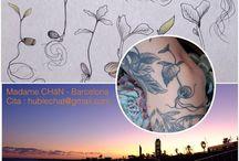 madame CHäN tattoo / tattoo by CHäN Barcelona  hublechat@gmail.com