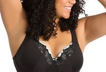 Suzanne: the lacy demi / Who doesn't need a great black bra in their wardrobe? The Suzanne has the comfort and versatility of a t-shirt bra, with a hint of lace to make it feel special and the patent-pending BAST system to make you feel supported. With its fuller coverage silhouette, it will easily become a mainstay.