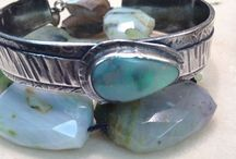 Olga Ganoudis Designs / HAND FABRICATED, FORGED, MILLED, KNOTTED, HAMMERED, BEZEL SET, PATINA, SHAPED & POLISHED WITH LOVE AND JOY