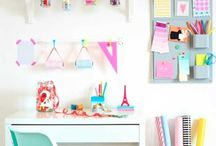 craft/office spaces / craft rooms, office spaces, and command centers  / by Kieren