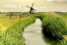 Travel - Holland, country under see level