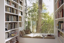 Bookshelves / Love real Books and bookshelves. Books expand and educate the mind of the reader. Happy reading. / by Carol Meza
