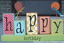 Birthdays / by Amanda Ludwig