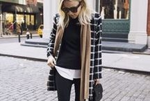 Fall & Winter Fashion / My favorite time of the year for fashion. I love tweeds, chunky sweaters, trenches, corduroy, scarves, boots and anything cozy. Some styling inspiration...