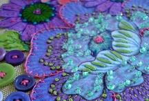 Fabric Collages -- Fiber Art