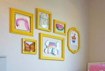Rooms that are just for kids / The fun home crafts, projects or custom designs for kids at home.